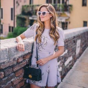 [Tularosa] x Revolve Lavender Pom Pom Floral Dress